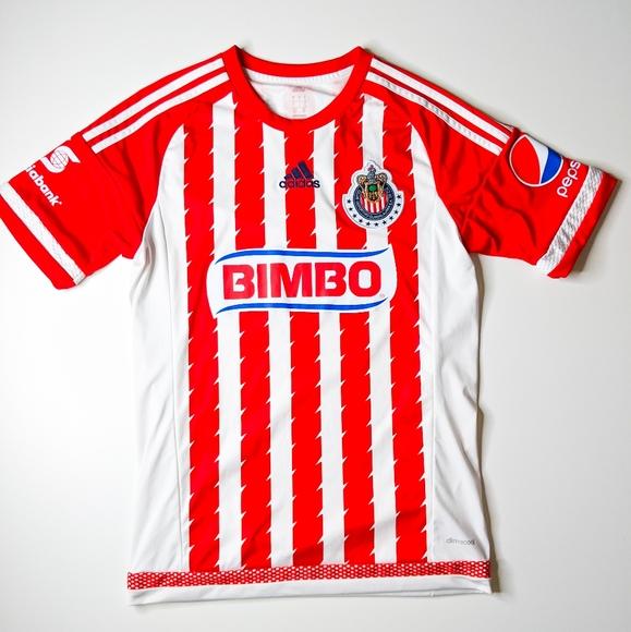 Chivas de Guadalajara 2015 Home Jersey Adidas